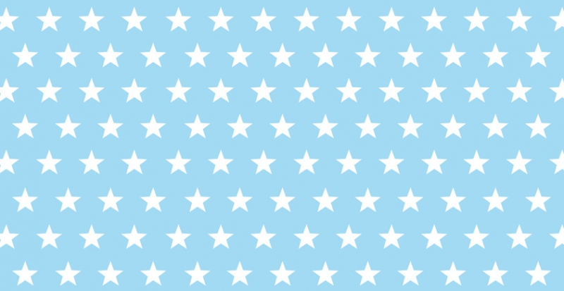 Kleinesbild - Kinderbordüre - selbstklebend   Sternchen - viele Farben - 15 cm Höhe   Vlies Bordüre mit kleinen Sternen