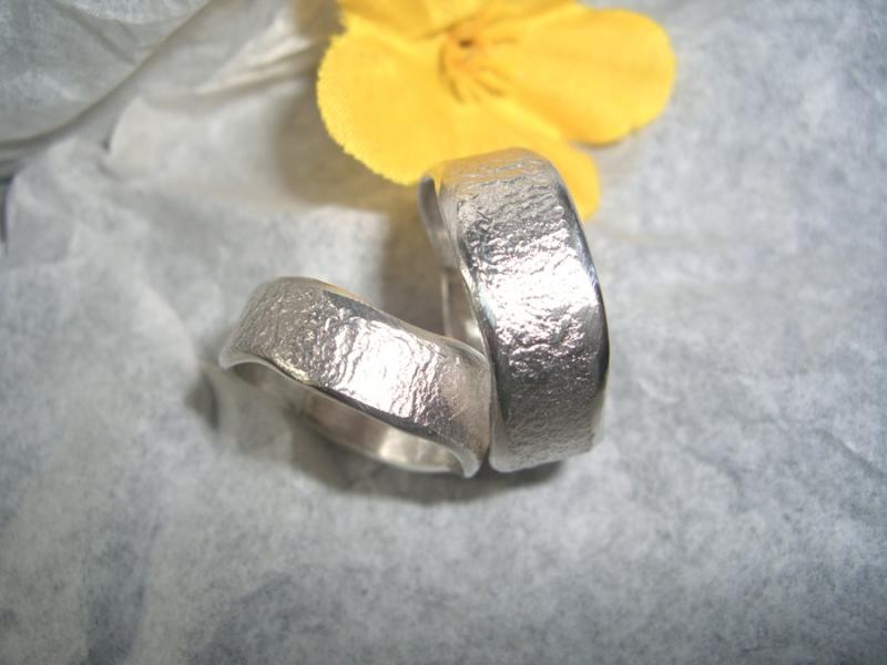 Kleinesbild - Trauringe Eheringe Partnerringe in Silber