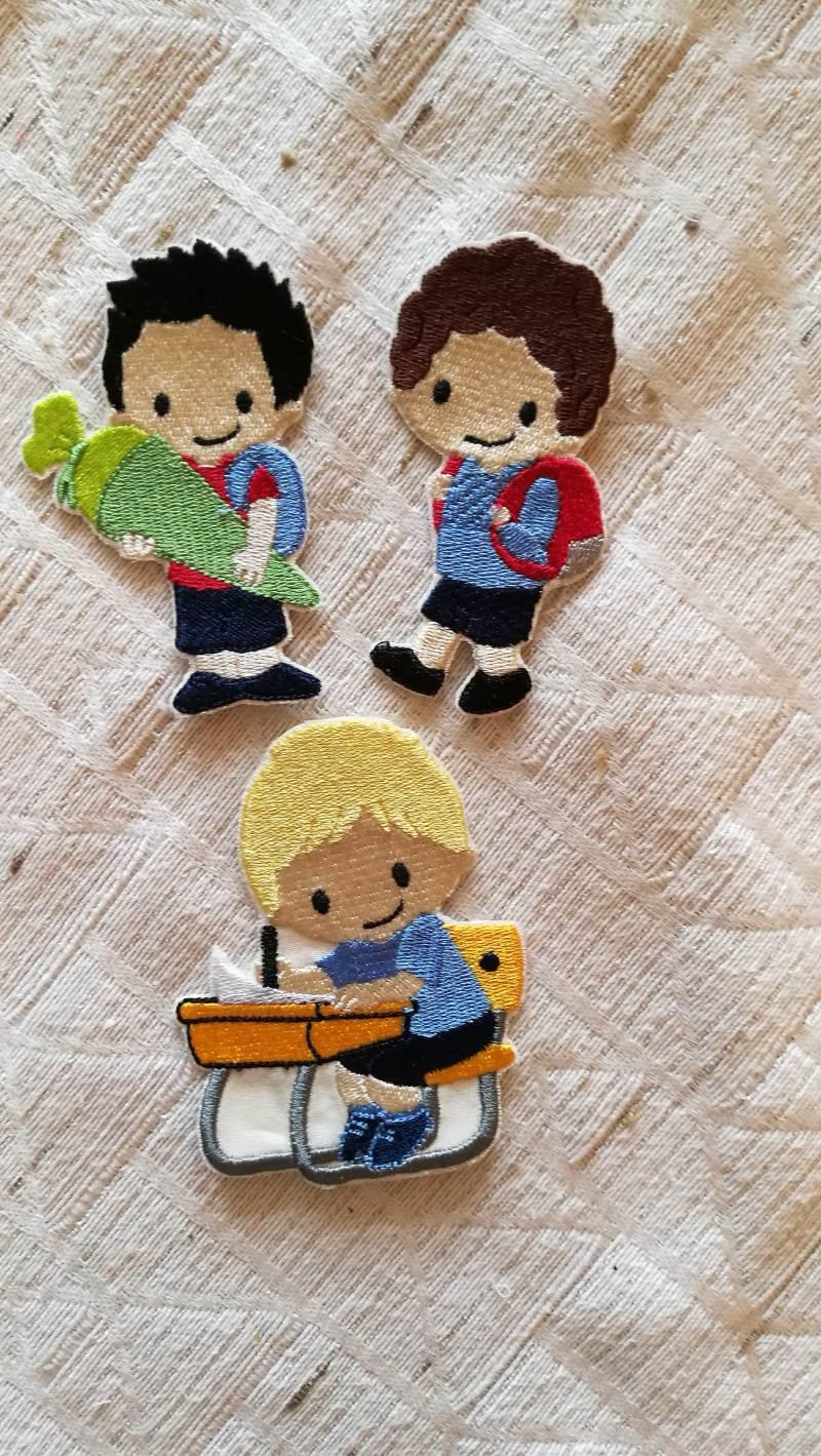 -  Stickbilder für den Schulanfang zum aufbügeln, Stickbilder, Bügelbilder   -  Stickbilder für den Schulanfang zum aufbügeln, Stickbilder, Bügelbilder