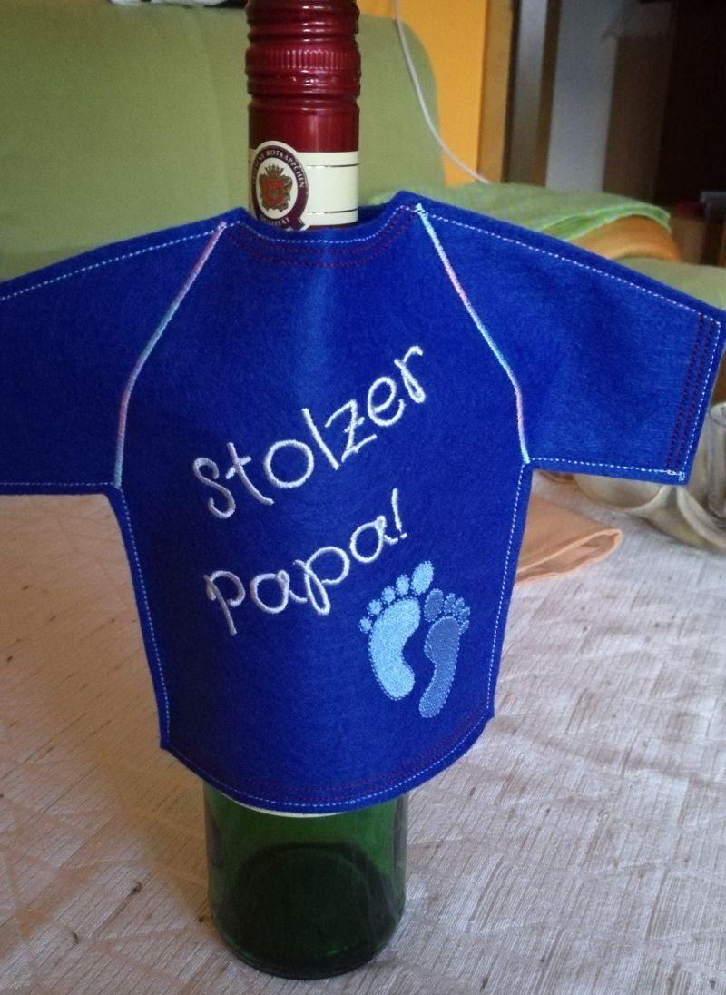 Kleinesbild - Flaschen T-shirt, die lustige Geschekidee für Flaschen