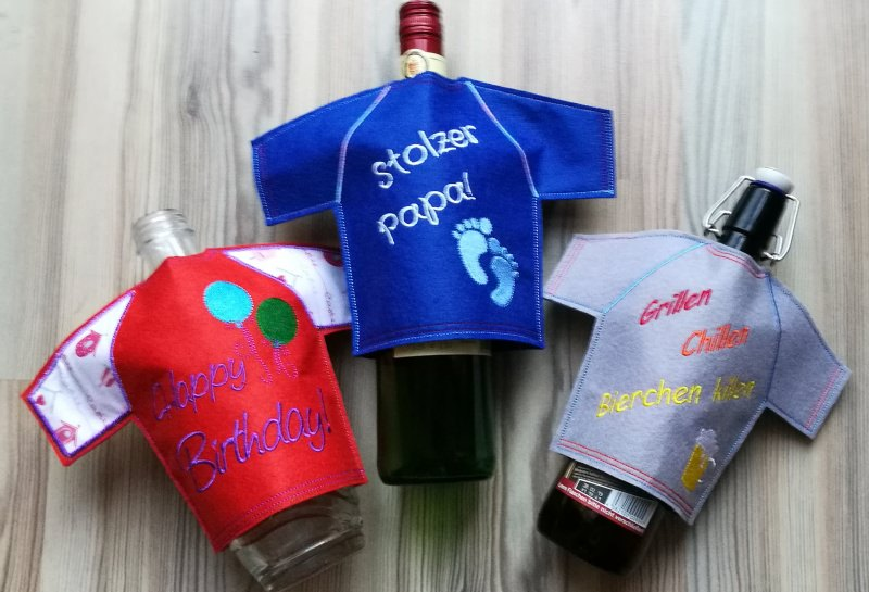 - Flaschen T-shirt, die lustige Geschekidee für Flaschen - Flaschen T-shirt, die lustige Geschekidee für Flaschen