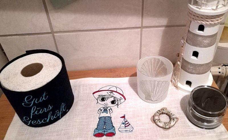 Kleinesbild - Klopapierhut, handgefertigt aus Filz mit lustigem Spruch
