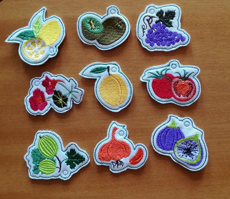 Kleinesbild - Dekorative Anhänger im 6-Set für die selbst eingekochte Marmelade, Deko für das Einmachglas