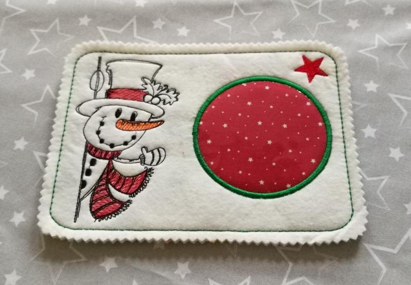 Kleinesbild - Mugrugs  Tassenteppich  Tassenuntersetzer handgefertigt aus Filz  kleines Weihnachtsgeschenk