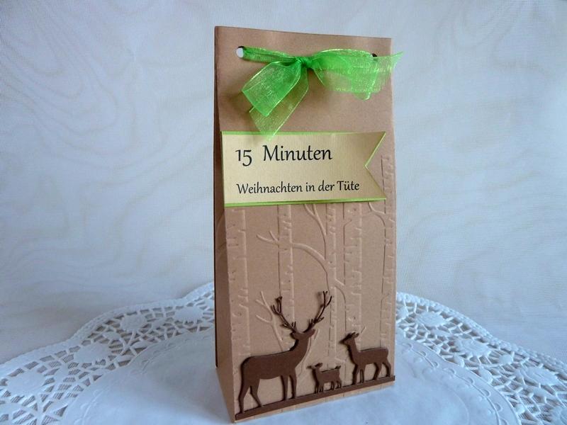 - 15 Minuten Weihnachten in der Tüte - 15 Minuten Weihnachten in der Tüte