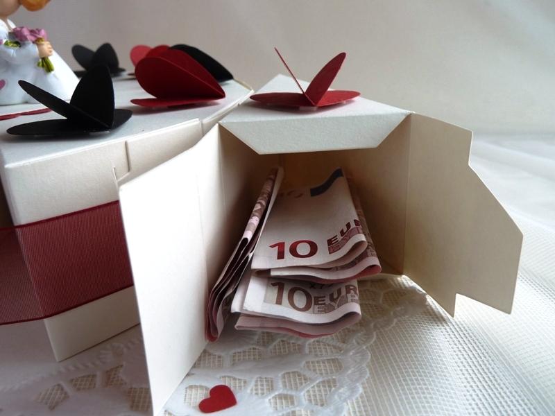Kleinesbild - ♥Hochzeitstorte/Schachteltorte/Geldgeschenk mit 23cm Durchmesser♥ *von IdeenOase*