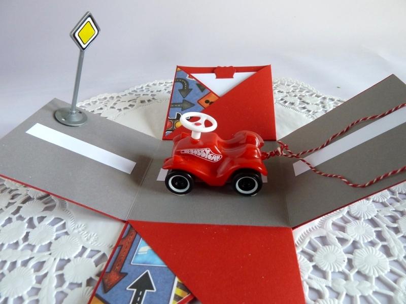 Kleinesbild - Explosionsbox/Geldgeschenk zum Geburtstag/zum Führerschein/zum Auto