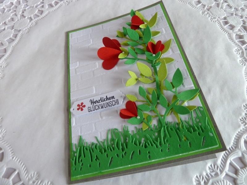 Kleinesbild - Glückwunschkarte zum Geburtstag und viele andere Gelegenheiten wie Namenstag etc.