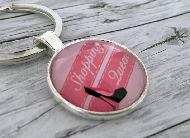 Kleinesbild - Schlüsselanhänger, Shopping Queen