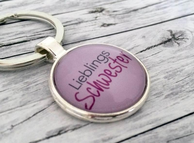 Kleinesbild - Schlüsselanhänger, Lieblingsschwester