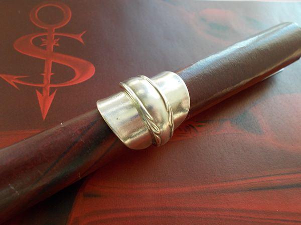 - Besteckschmuck Ring ♥ Ring aus einem Mokka-Löffel Größe 50 Löffel - Besteckschmuck Ring ♥ Ring aus einem Mokka-Löffel Größe 50 Löffel