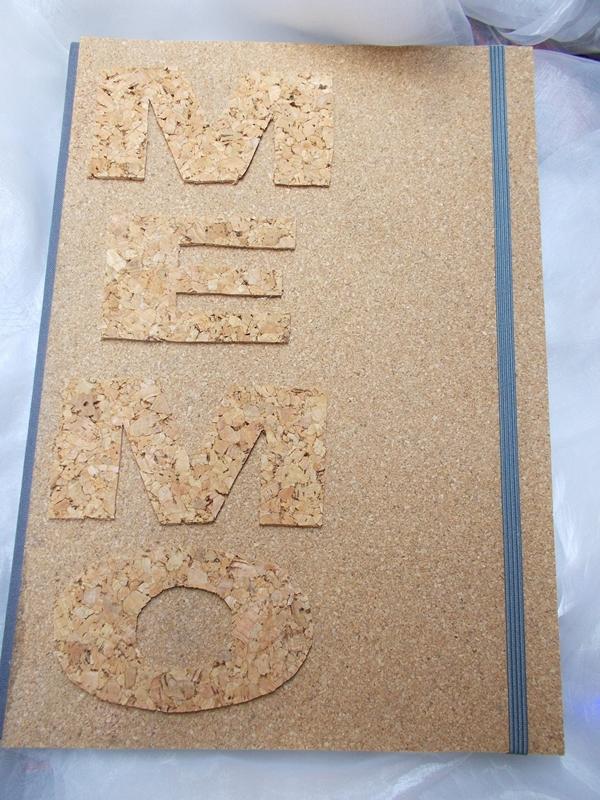 - Kladde A4 Hardcover Notizbuch ♥ MEMO Kork  - Kladde A4 Hardcover Notizbuch ♥ MEMO Kork