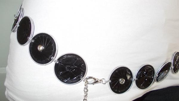 Kleinesbild - Gürtel ♥ Wendegürtel AllIn bunt Nespresso - Kapsel Schmuck upcycling