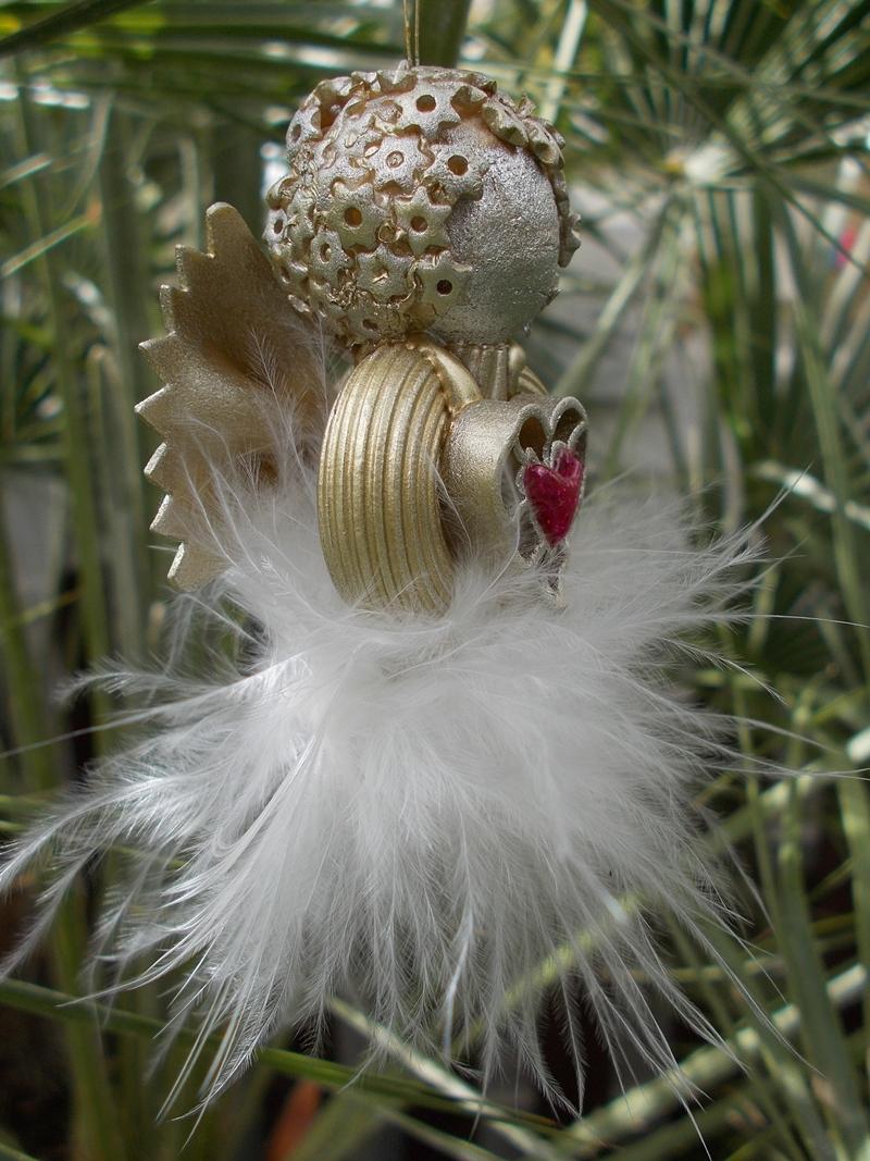 Kleinesbild - Engel ♥ Engel Glücksbringer Schutzengel goldfarben Weihnachtsengel