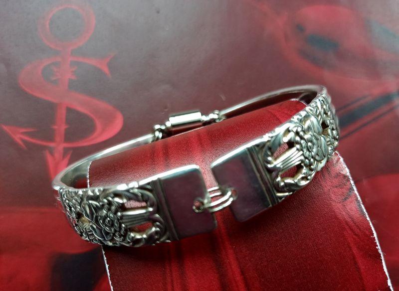 - Besteckschmuck Armband Armreif mit Magnet ♥ HAMPTON COURT - Besteckschmuck Armband Armreif mit Magnet ♥ HAMPTON COURT