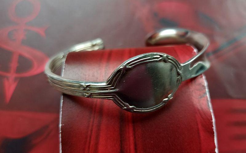 - Besteckschmuck Armband Armreif aus einer Hummergabel ♥ Stravagante  - Besteckschmuck Armband Armreif aus einer Hummergabel ♥ Stravagante