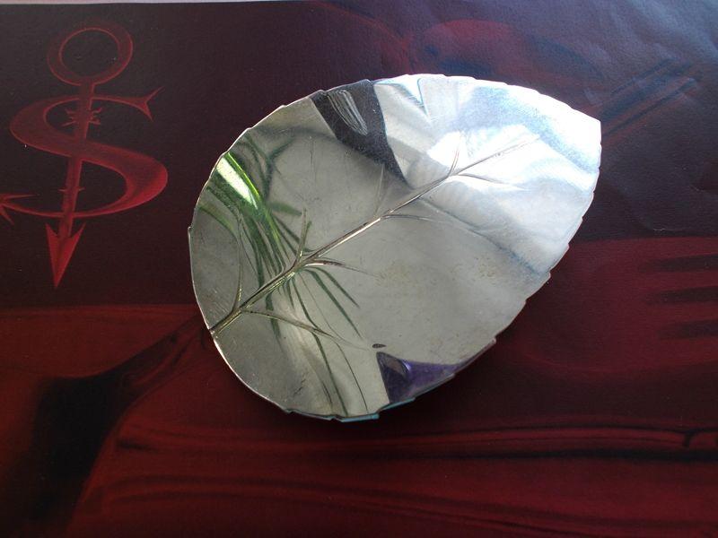 - Besteckschmuck Haarspange Blatt ♥ Haarspange aus einem Tortenheber - Besteckschmuck Haarspange Blatt ♥ Haarspange aus einem Tortenheber
