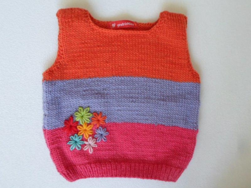 - Babypullunder Gr.86/92 Blumenstrauß - Babypullunder Gr.86/92 Blumenstrauß