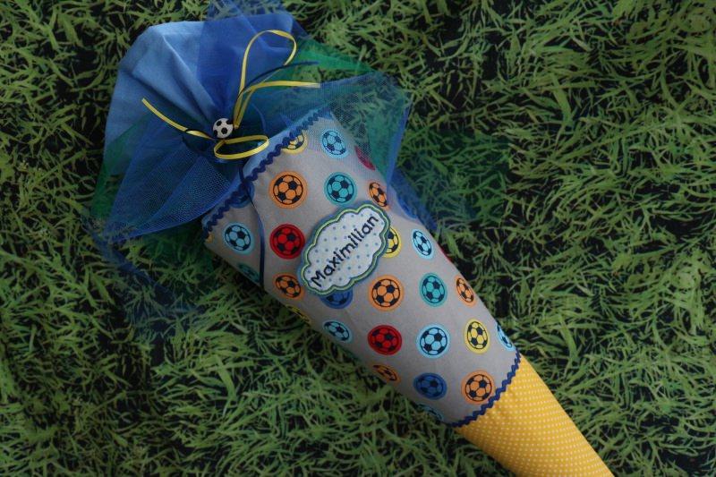 Kleinesbild - Schultüte ♥Fußball♥