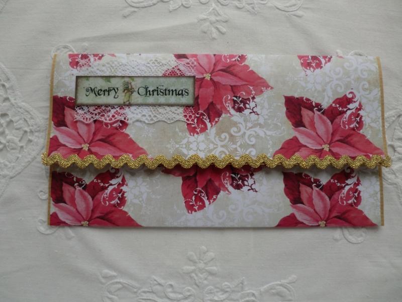 - Kuvert mit Karte - für Geld / Gutscheingeschenke - Weihnachtsmotiv - von patchwerk    - Kuvert mit Karte - für Geld / Gutscheingeschenke - Weihnachtsmotiv - von patchwerk