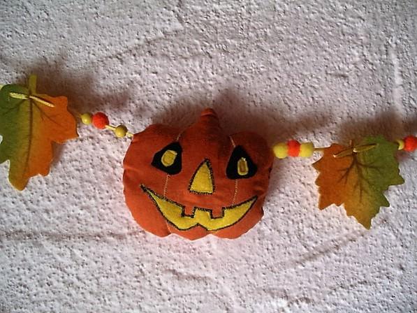 Kleinesbild - Halloweengirlande