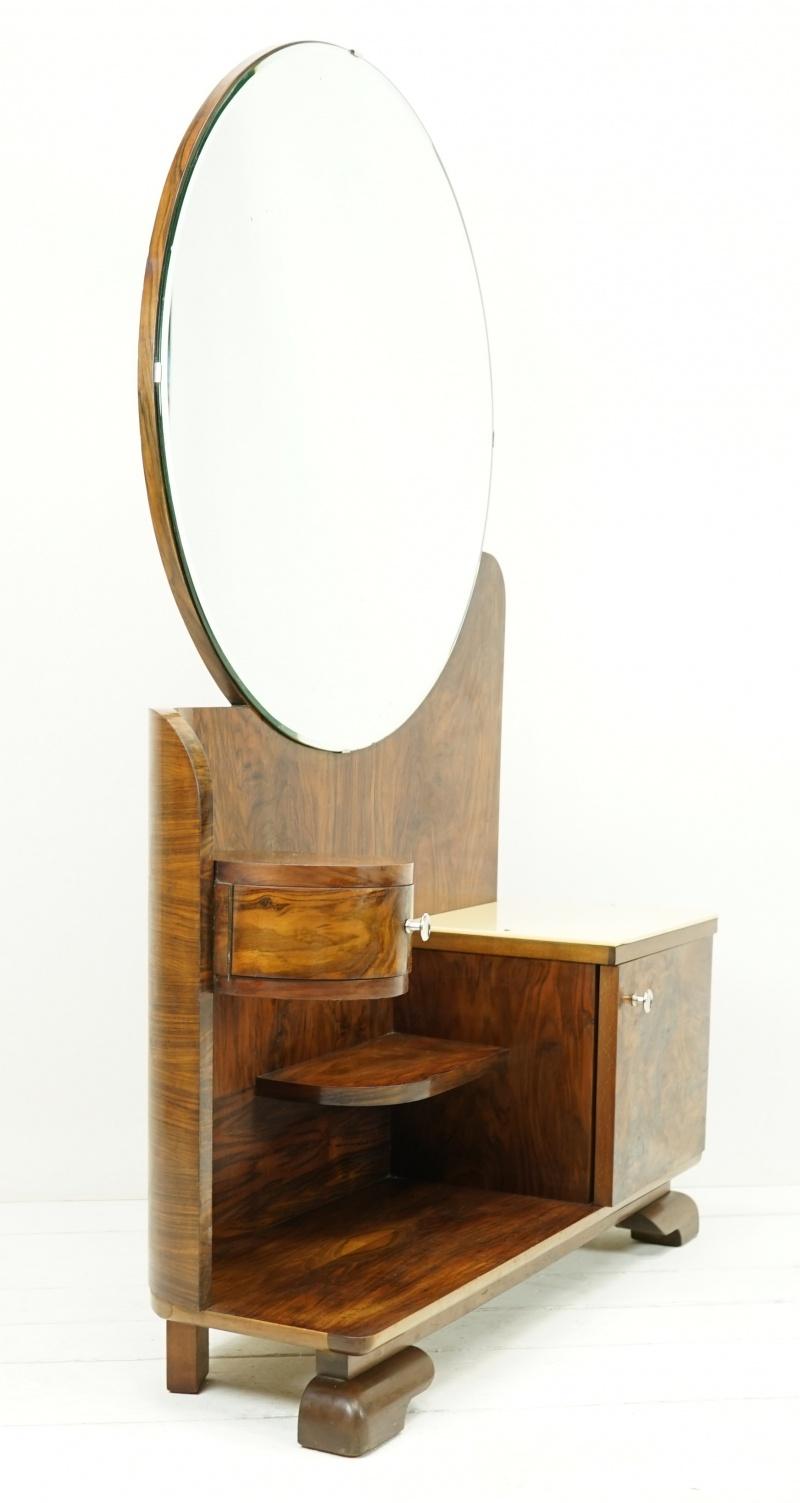 vintage möbel : spiegelkommode aus frankreich im art dÉco stil aus