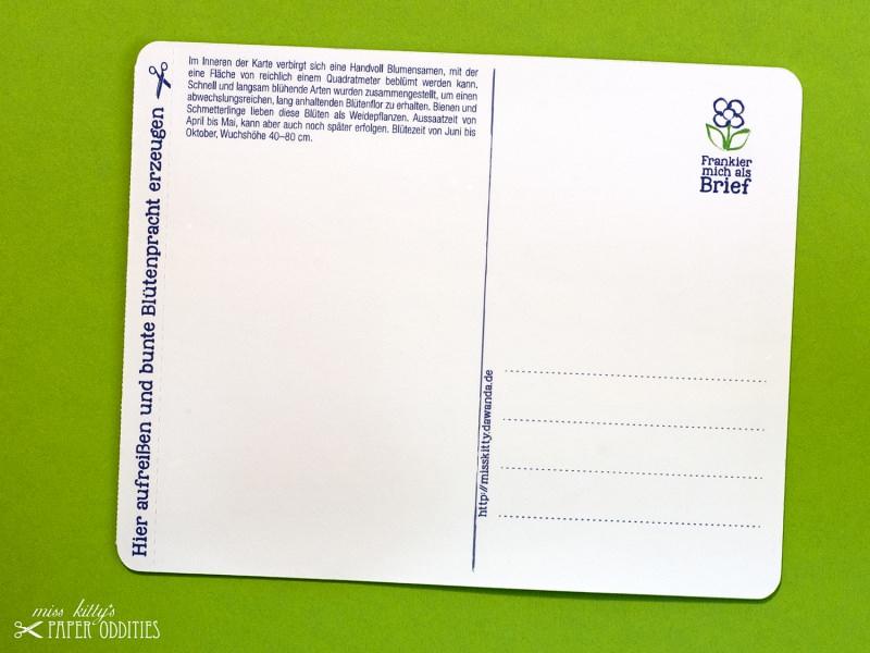 Kleinesbild - Muttertags-Postkarte, gefüllt mit Sommerblumensamen