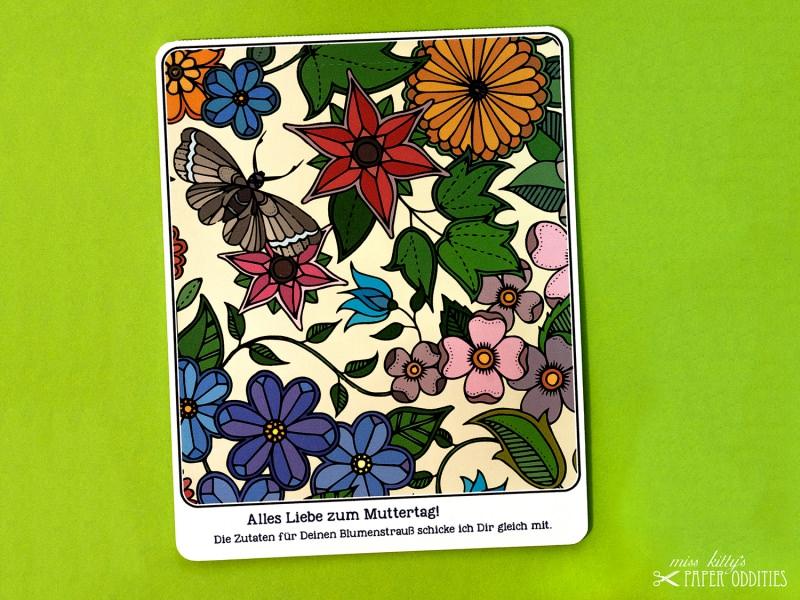- Muttertags-Postkarte, gefüllt mit Sommerblumensamen - Muttertags-Postkarte, gefüllt mit Sommerblumensamen