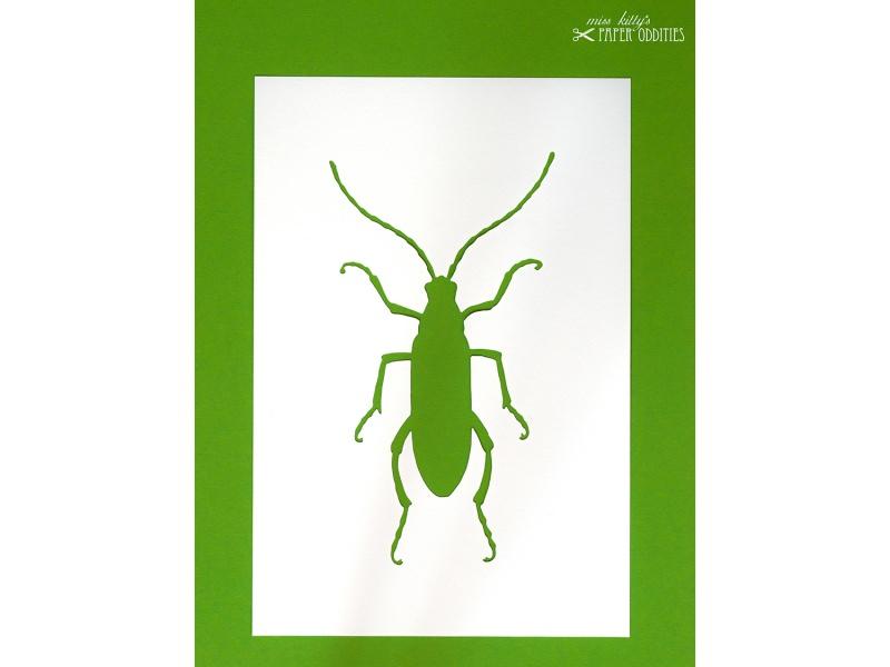 Kleinesbild - DIY-Wachs-Bügelbild »Käfer No. 1«