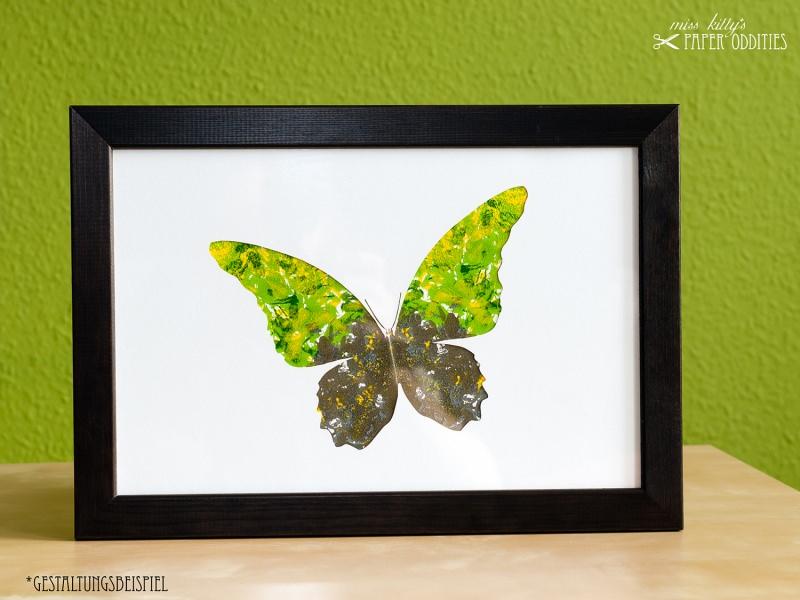 - DIY-Wachs-Bügelbild »Schmetterling No. 1« - DIY-Wachs-Bügelbild »Schmetterling No. 1«
