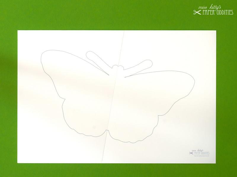 Kleinesbild - DIY-Wachs-Bügelbild »Schmetterling No. 2«
