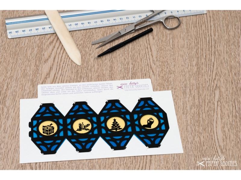 Kleinesbild - Weihnachtliche Papierlaterne — 06.dunkelblau