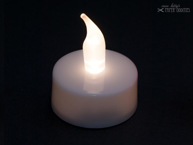- LED-Teelicht mit heller weißer Flamme, flackert nicht - LED-Teelicht mit heller weißer Flamme, flackert nicht
