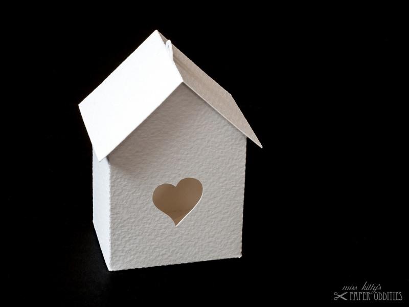 - Bastelbogen »Vogelhaus« — weiß, zum selbst bemalen - Bastelbogen »Vogelhaus« — weiß, zum selbst bemalen