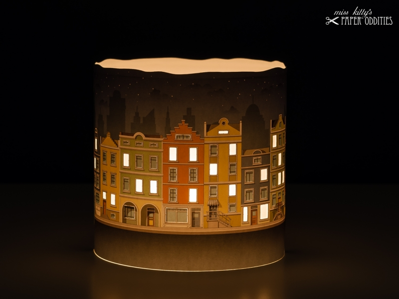 - Adventskalender »Lichter der Stadt«, zum Beleuchten mit einer Kerze oder LED-Teelicht - Adventskalender »Lichter der Stadt«, zum Beleuchten mit einer Kerze oder LED-Teelicht