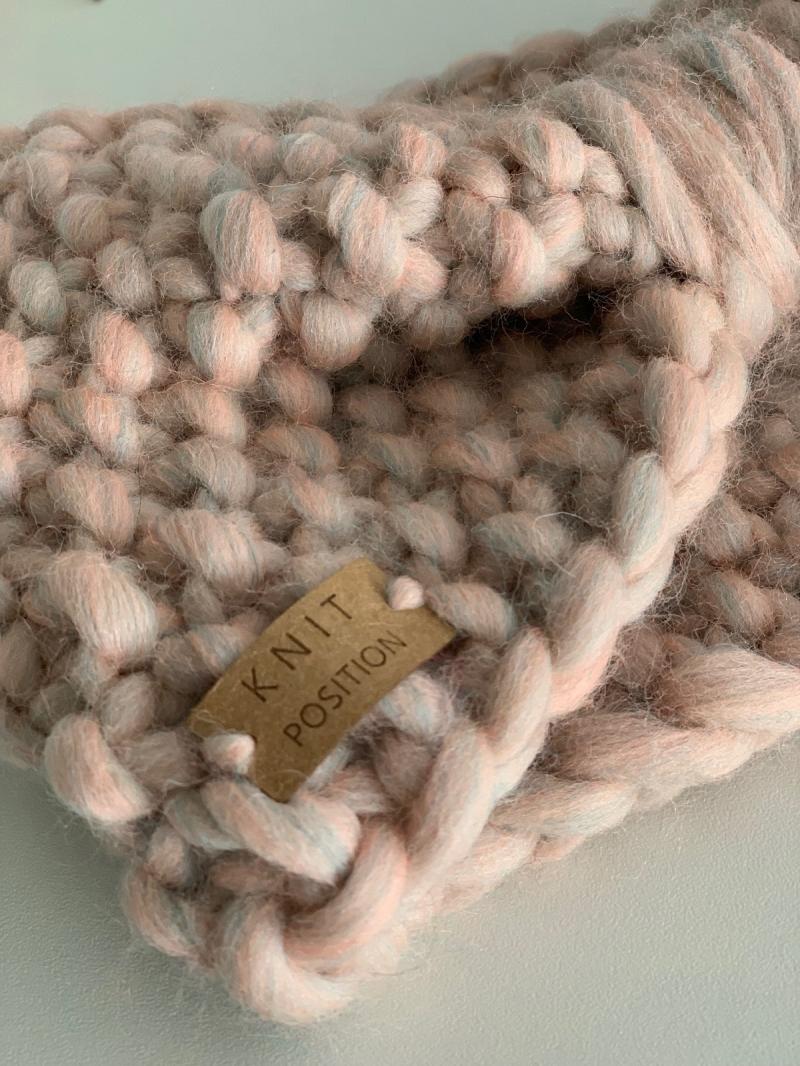 Kleinesbild - ZUCKERFEE - Stirnband aus dicker Wolle im Schleifenstil