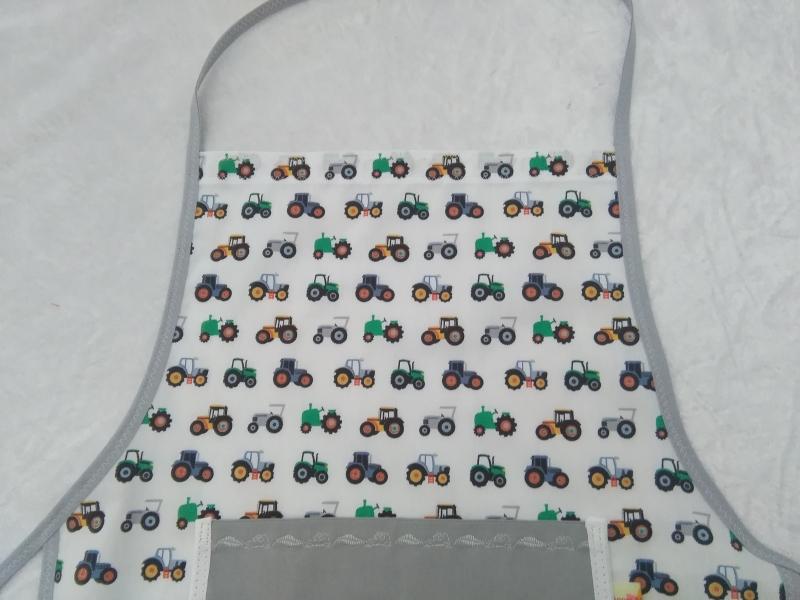 Kleinesbild - Kochschürze, Backschürze personalisiert, Trekker und Traktoren