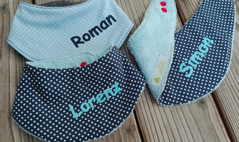 - Baby Halstuch mit Name oder Motiv☆Baby Sabberlätzchen✂Musterwahl☆Farbwahl☆Materialwahl✂ - Baby Halstuch mit Name oder Motiv☆Baby Sabberlätzchen✂Musterwahl☆Farbwahl☆Materialwahl✂