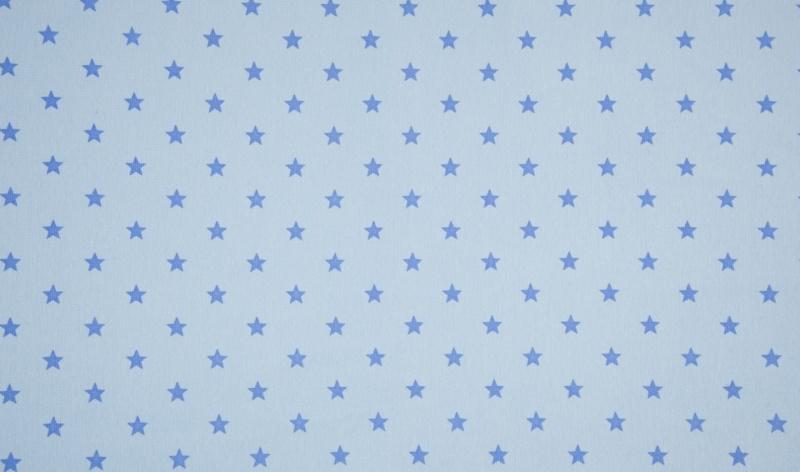 - Bündchen Sterne hellblau - Bündchen Sterne hellblau
