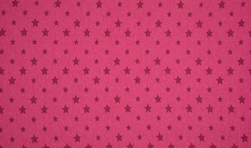 - Bündchen Sterne rot meliert - Bündchen Sterne rot meliert