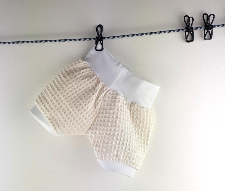 Kleinesbild - kurze Pumphose 68 74, Shorts, Babyhose, Kinderhose, Haremshose