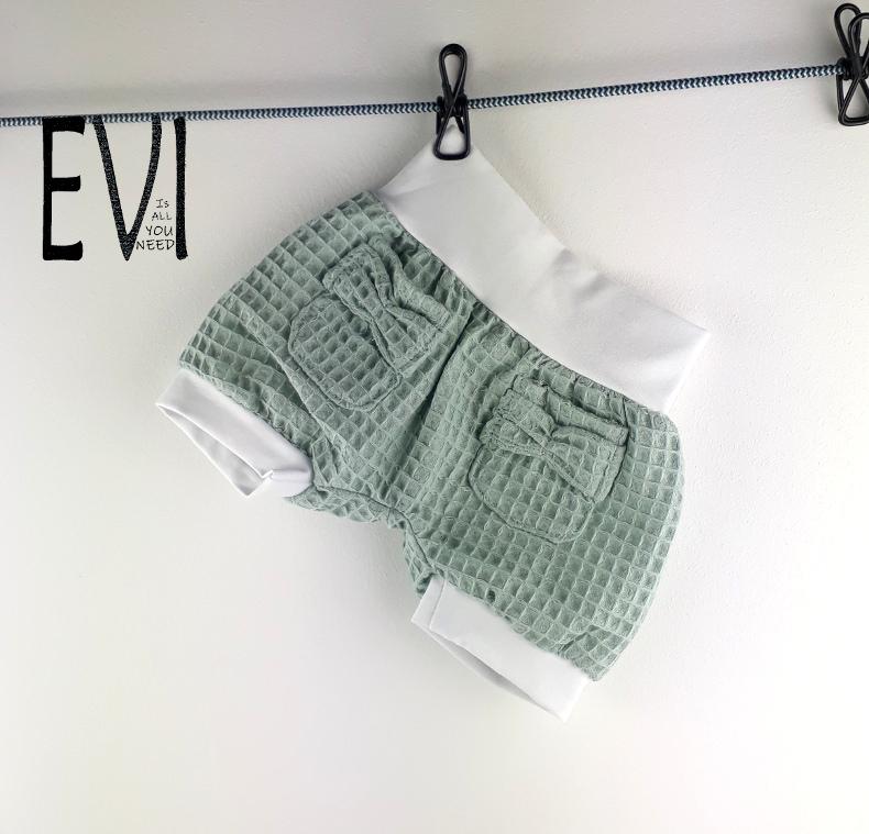 - kurze Pumphose 110 116, Shorts, Babyhose, Kinderhose, Haremshose  - kurze Pumphose 110 116, Shorts, Babyhose, Kinderhose, Haremshose