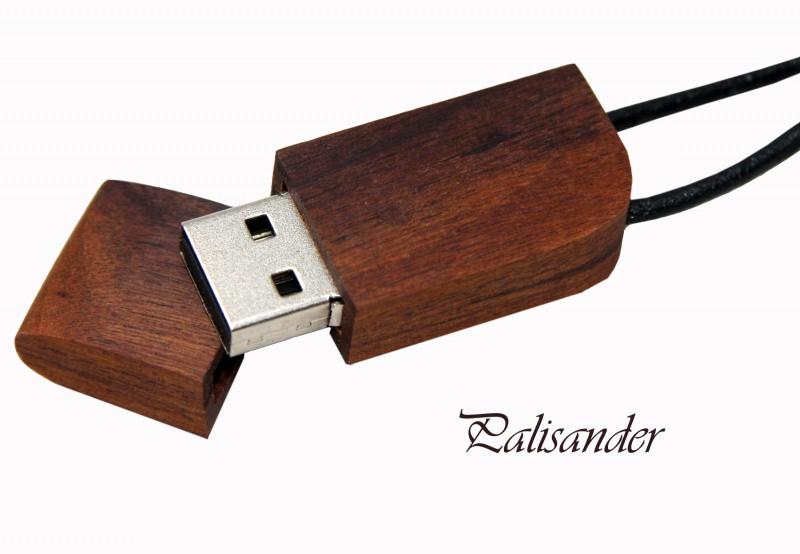 USB Stick Holz 8GB Palisander mit Gravur