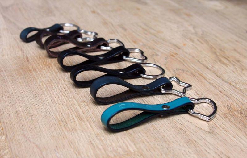 Kleinesbild - Schlüsselanhänger Leder mit Motiv