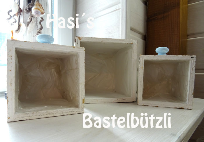 Kleinesbild -  ♡ Pflanzkisten aus Holz, ♡ Utensilo, ♡ Holzkisten, ♡ Schubladen aus Holz, ♡ Übertöpfe