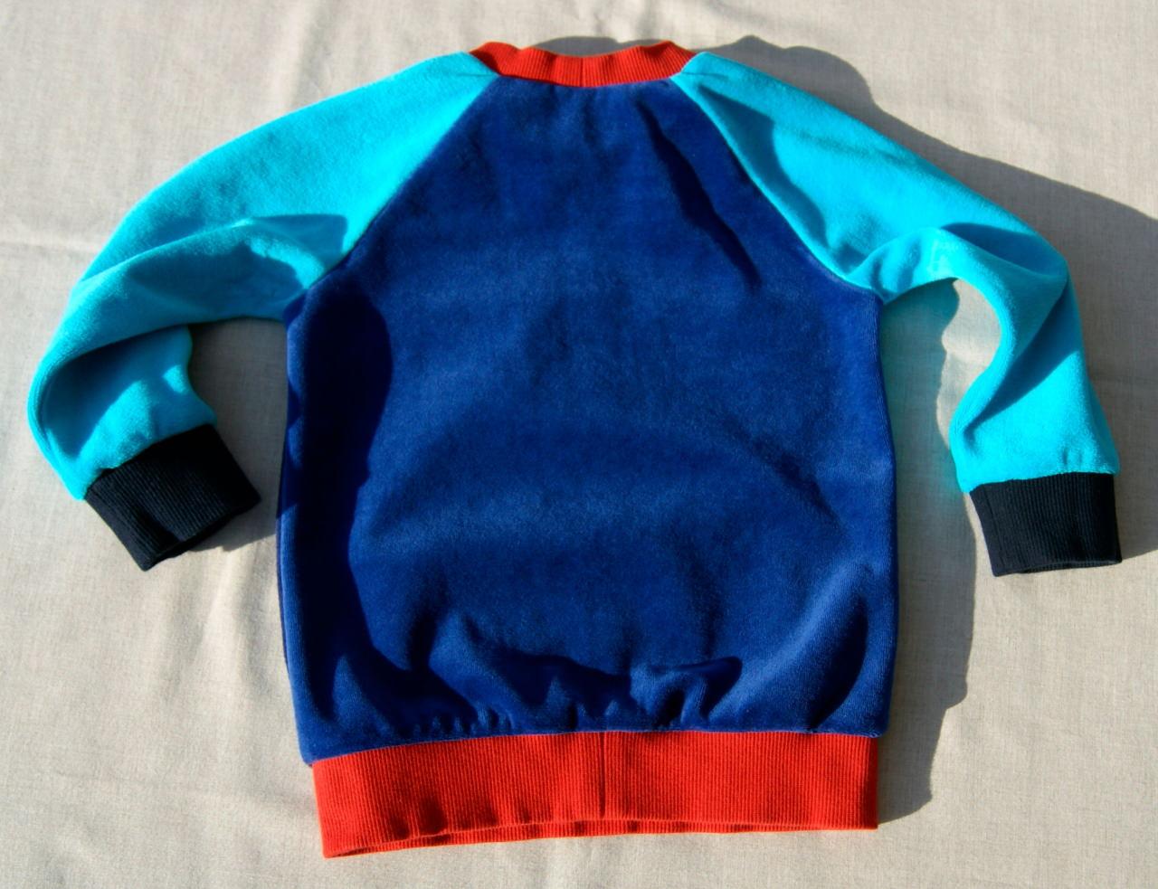 Kleinesbild - Pullover Nicki  AUTOS  Gr.86/92 Baumwolle bunt