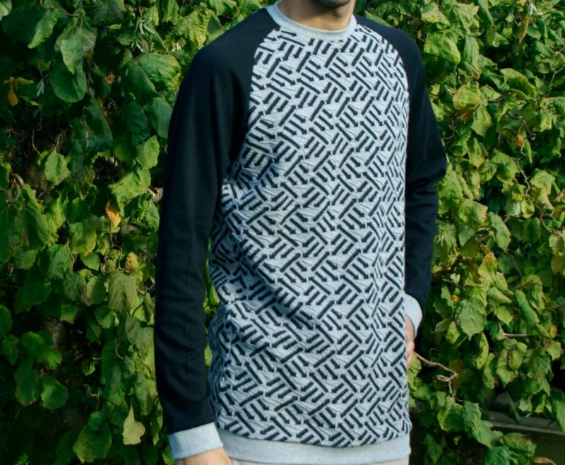 - Männer Pullover RIGHT DIRECTION Baumwoll-Jacquard kbA Größe M  - Männer Pullover RIGHT DIRECTION Baumwoll-Jacquard kbA Größe M