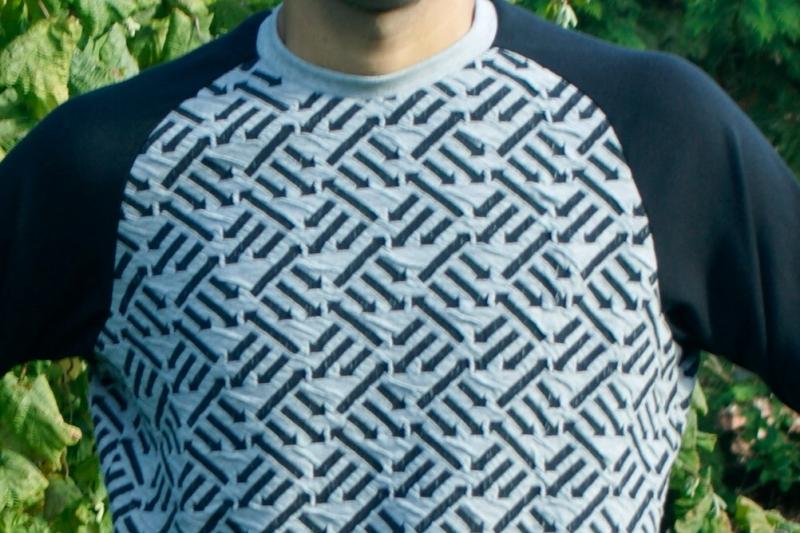 Kleinesbild - Männer Pullover RIGHT DIRECTION Baumwoll-Jacquard kbA Größe M