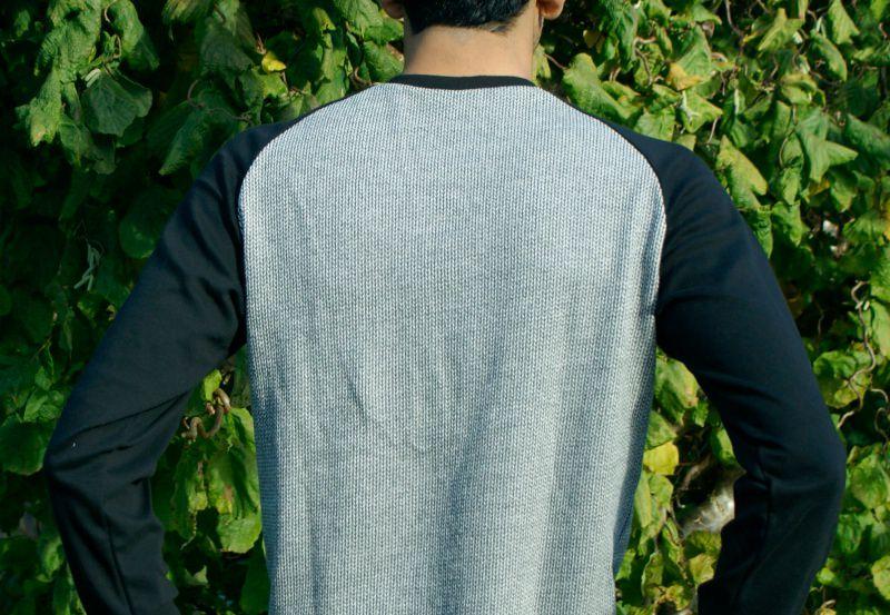 Kleinesbild - Männer Pullover KNIT KNIT Bio-Baumwoll-Jacquard Gr.M