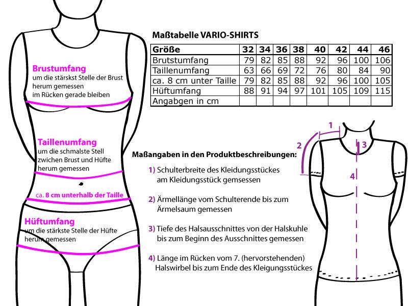 Kleinesbild - One Shoulder Shirt asymmetrisch No.2 mit dreiviertel Arm